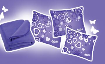 Спечелете 3000 Milka одеяла и 10 000 Milka възглавници