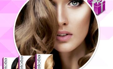 Спечелете 5 бои за коси Elcea в цвят по избор