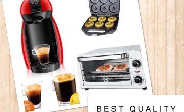 Спечелете машина за кафе Dolce Gusto, мини фурна и уред за домашни понички