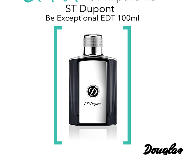 Спечелете аромата ST Dupont Be Exceptional EDT 100мл