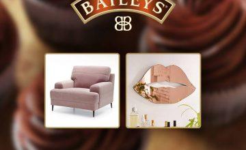 Спечелете елегантно кресло или супер сладко огледало от Baileys