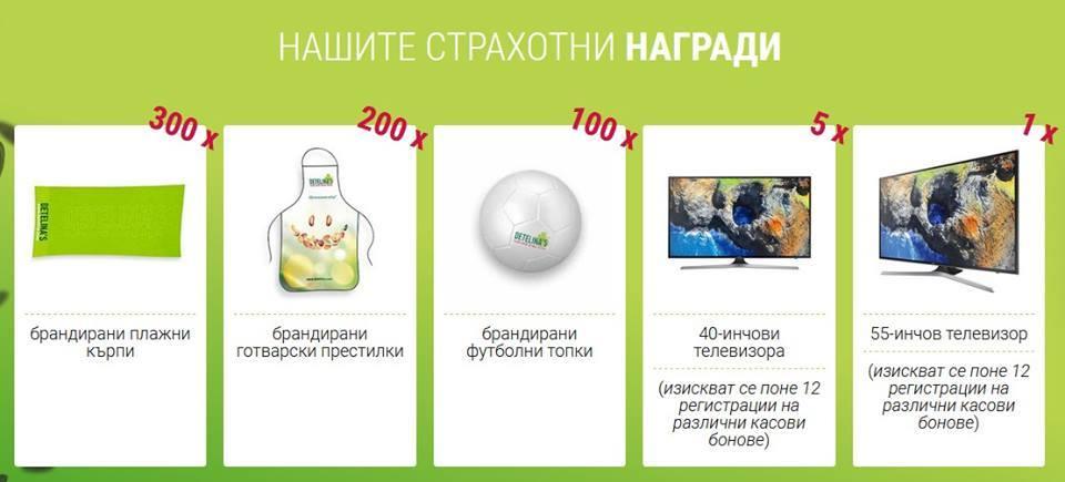 0046f03ef0b Спечелете телевизори, кърпи, топки и още награди от ядки Детелина