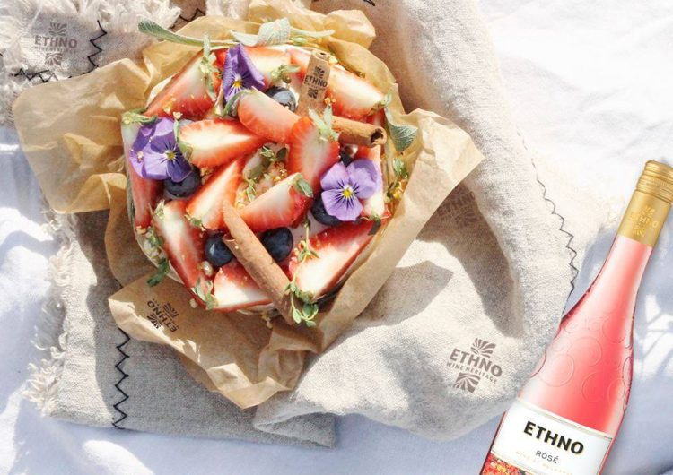 Спечелете бутилка ETHNO розе