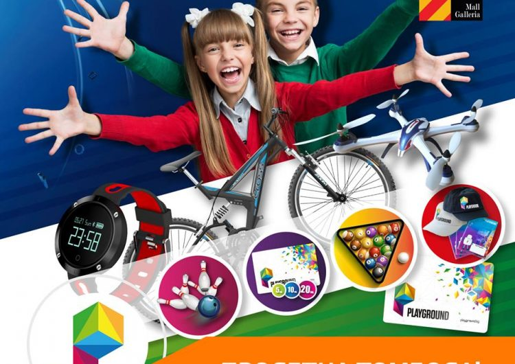 Спечелете смарт часовник, ваучери и още много награди от Playground
