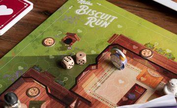 """Спечелете 300 настолни игри """"Milka Biscuit Run"""""""