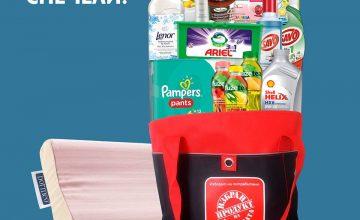 Спечелете три торби пълно с избрани продукти