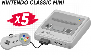 Спечелете 5 игрови конзоли Nintendo classic mini