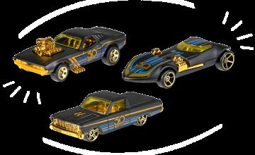 Спечелете колички от лимитираната серия Hot Wheels 50th Anniversary