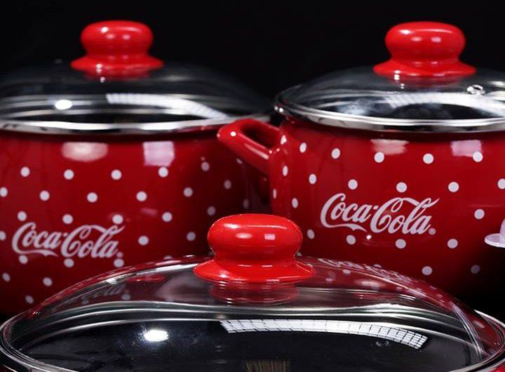 Спечелете съдове за готвене Coca Cola