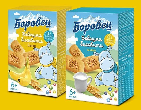 "Спечелете чуденси награди от бебешки бисквити ""Боровец"""