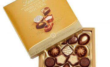 Спечелете 10 кутии с бонбони Swiss Luxury Selection от Lindt
