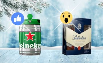 Спечелете кег с бира Heineken или подаръчен комплект Ballantines