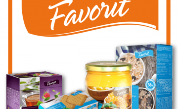 Спечелете 5 комплекта с продукти Favorit