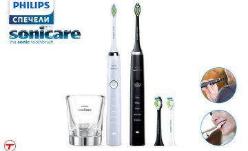 Спечелете комплект електрически четка за зъби Philips Sonicare