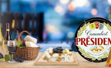 Спечелете 3 кошници с продукти на Président