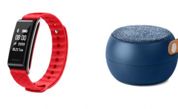 Спечелете 400 Bluetooth аксесоари – колонки, гривни, слушалки и още много награди от Telenor