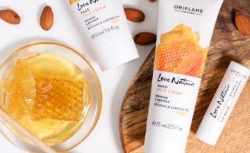 Спечелете козметичен комплект с продукти Oriflame
