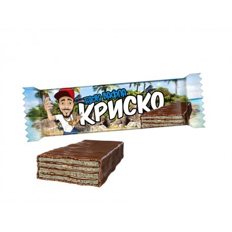 Спечелете 100 кутии с бясната вафла на Криско