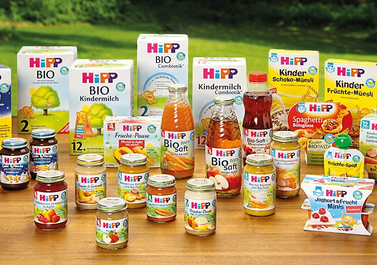 Спечелете 5 комплекта награди от HiPP
