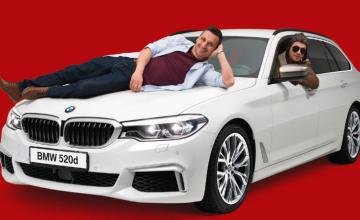 Спечелете лек автомобил BMW 520d и 70 ваучера по 500 лева от Kaufland