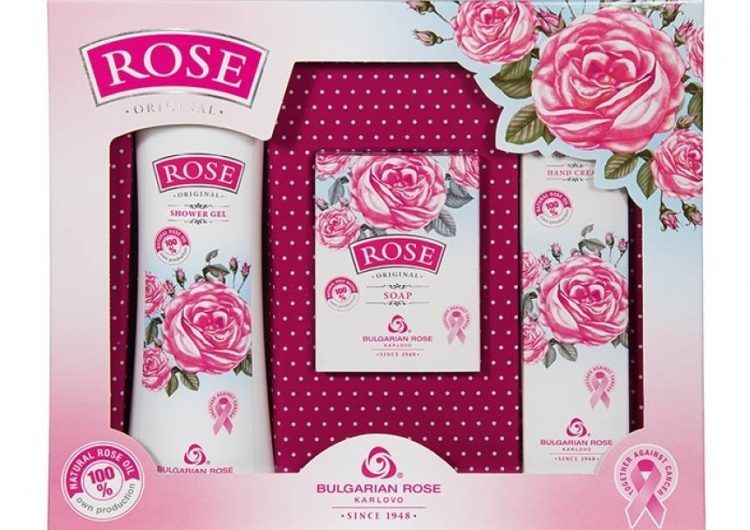 Спечелете пет подаръчни комплекта на Българска роза Карлово