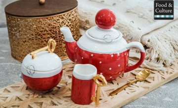 Спечелете порцеланов чайник, каничка и захарничка