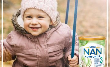 Спечелете 30 обогатени млечни напитки Nestle NAN Comfortis 3