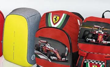 Вземете чудесни раници Ferrari и още чудесни продукти в новата кампания на Shell