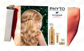 Спечелете 50 козметични комплекта Phyto Phytoelixir