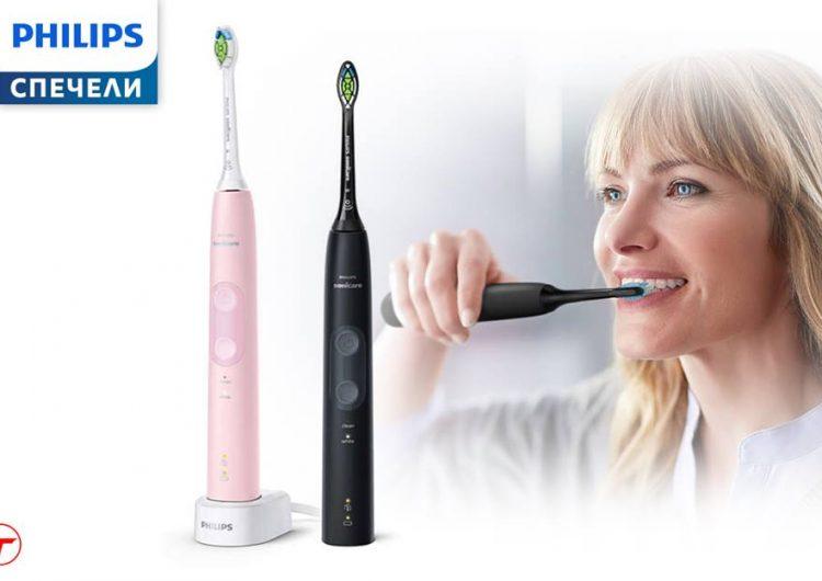 Спечелете чудесен комплект четки за зъби Philips