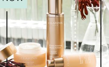 Спечелете комплект продукти в мини размер Clarins