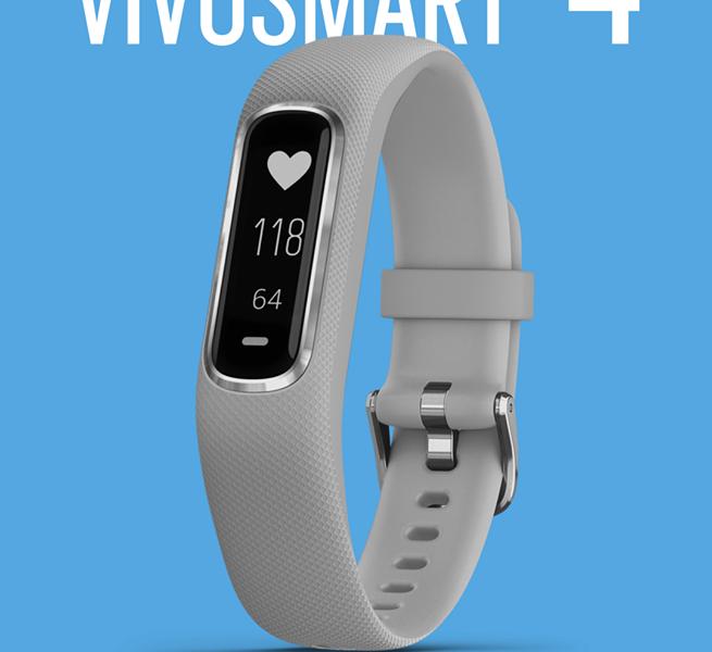 Спечелете смарт гривна Garmin Vivosmart 4