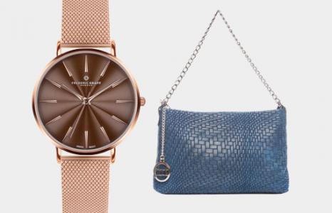 Спечелете чудесна дамски чанта и часовник