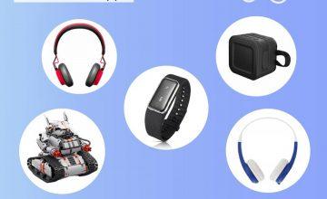Спечелете роботи, спортни гривни, слушалки и колонки