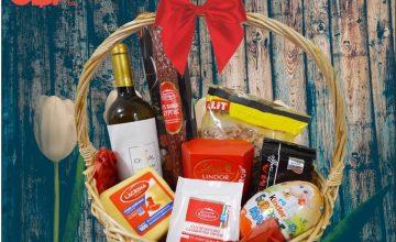 Спечелете 5 подаръчни кошници за Великден от CBA