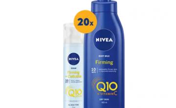 Спечелете 20 комплекта продукти от серията NIVEA Q10 Body