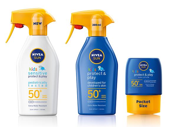 Спечелете 50 комплекта NIVEA BABY Слънцезащитен лосион за бебета и NIVEA SUN Детски слънцезащитен лосион джобен размер