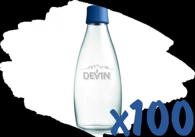 Спечелете 10 награди вода за цяла година и 100 стъклени бутилки от DEVIN