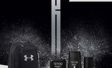 Спечелете раница Under Armour и 5 комплекта с продукти STR8