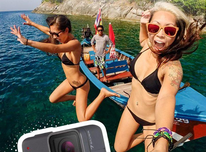 Спечелете камера GoPro Hero 7 Silver + SD card