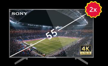 """Спечелете два 55"""" 4K UHD Smart TV SONY телевизора"""
