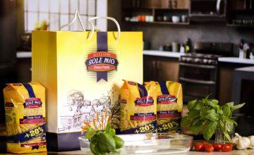 Спечелете три комплекта с продукти Sole Mio, готварска престилка и щипка за спагети
