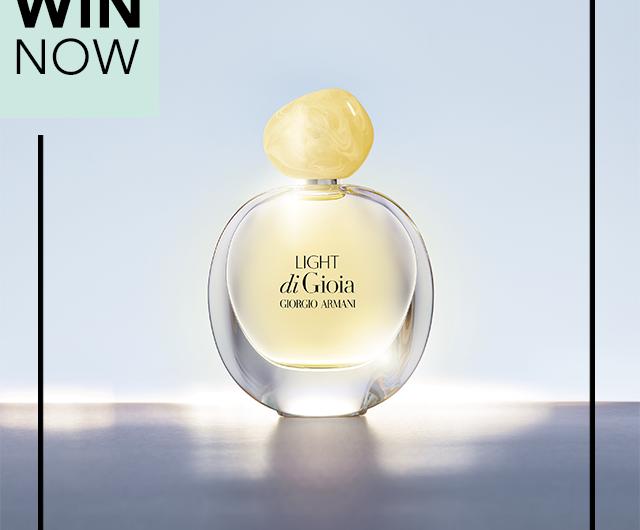 Спечелете новият аромат Gioia от Giorgio Armani