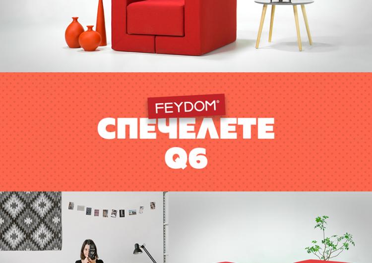 Спечелете практичен фотьойл от FEYDOM