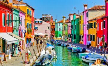 Спечелете екскурзия за двама до остров Бурано, Италия и фотоапарати