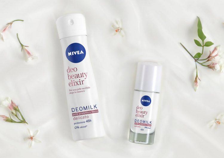 Спечелете 30 дезодоранта NIVEA DEOMILK Beauty Elixir