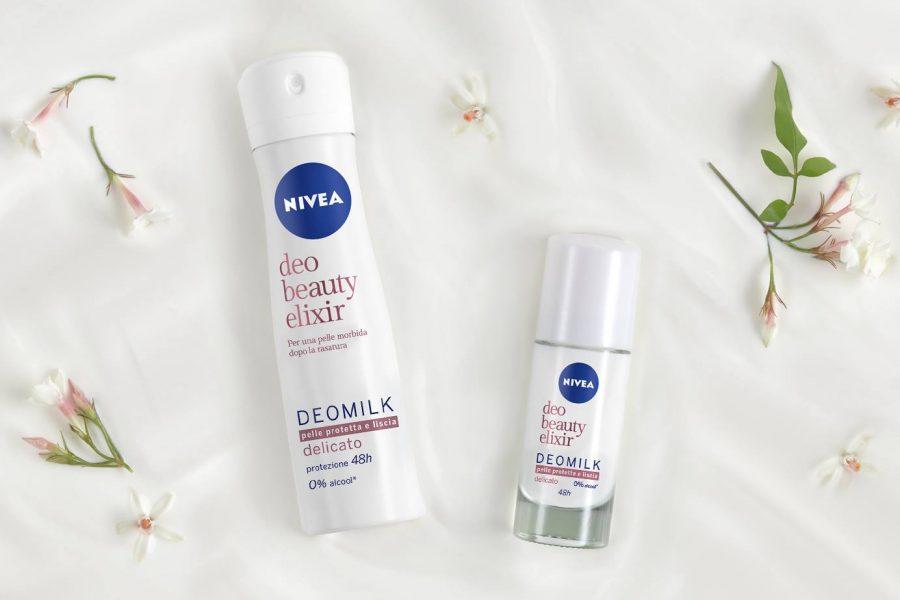 Спечелете 50 дезодоранта NIVEA DEOMILK Beauty Elixir
