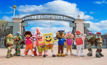 Спечелете семейно пътуване до Nickelodeon Land, Мадрид, Испания
