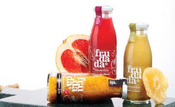 Спечелете три комплекта смутита, лимонади и памучни еко-чанти Frudada