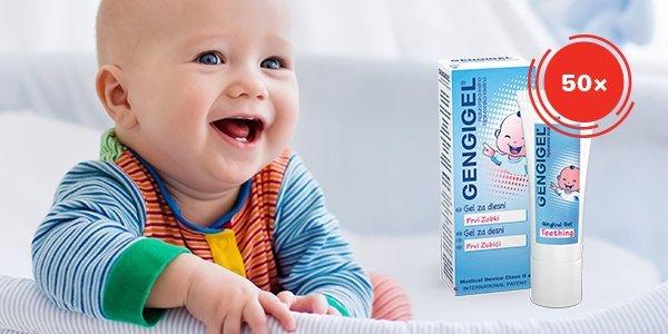 Спечелете 50 броя Gengigel® първи зъбки